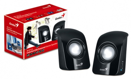 АКУСТИКА GENIUS SP-U115 2.0 USB BLACK