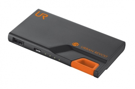 powerbank TRUST URBAN REVOLT 3000T black/orange