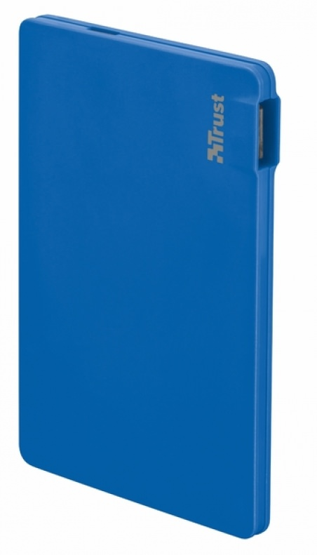powerbank TRUST 2200T Ultra-thin Charger Blue