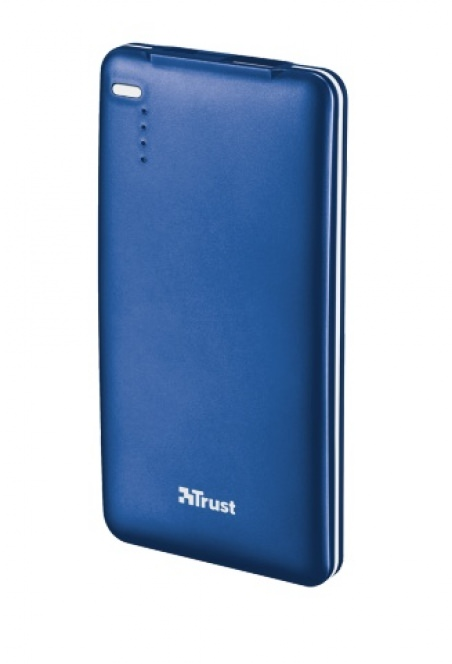 powerbank TRUST 4000T Thin portable charger blue