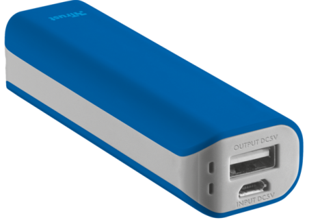 powerbank TRUST Primo 2200 blue