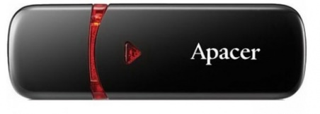 Флеш-драйв APACER AH333 4GB Black